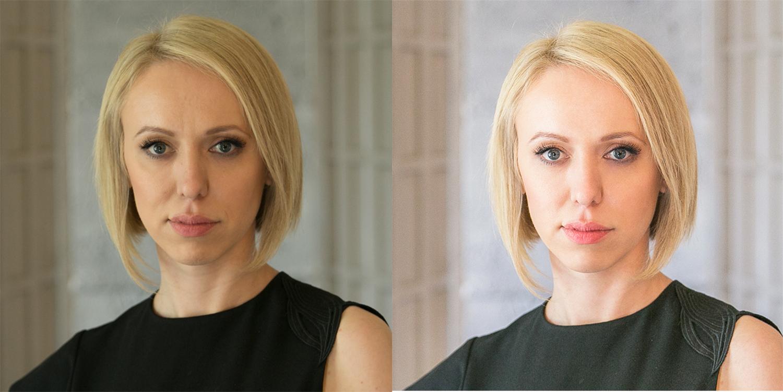 портретов обработка фотографий